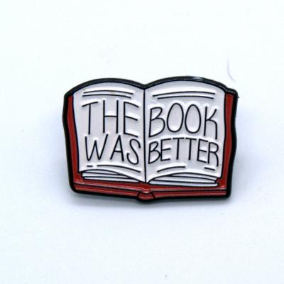 Book Enamel Pin