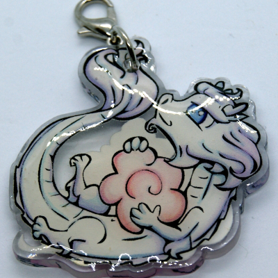 Heavenly Bride charm or pin