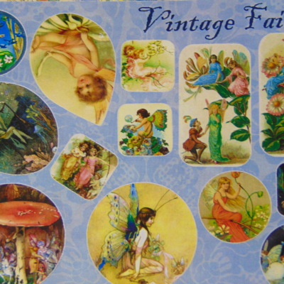 Vintage Fairies Shaped Stickers – Moonshine Sticklers