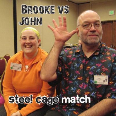 Steel Cage Match – Brooke Vs. John