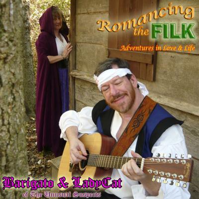 Romancing the Filk: Advenures in Love & Life – Barigato & Ladycat (filk geek CD)