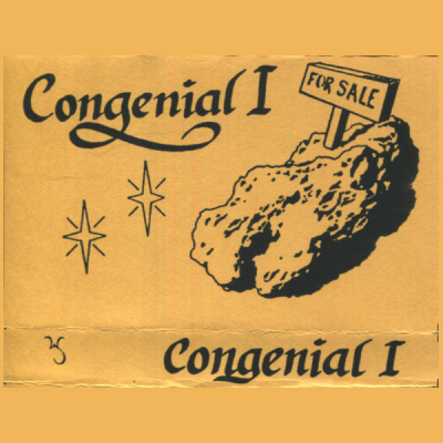 Congenial I cassette tape (filk folk)