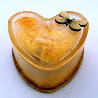 Unique golden butterfly trinket box