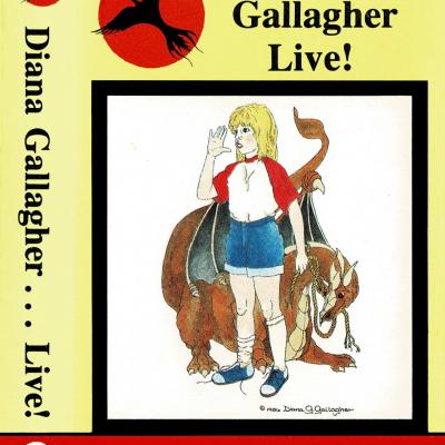 Diana Gallagher Live! filk cassette tape